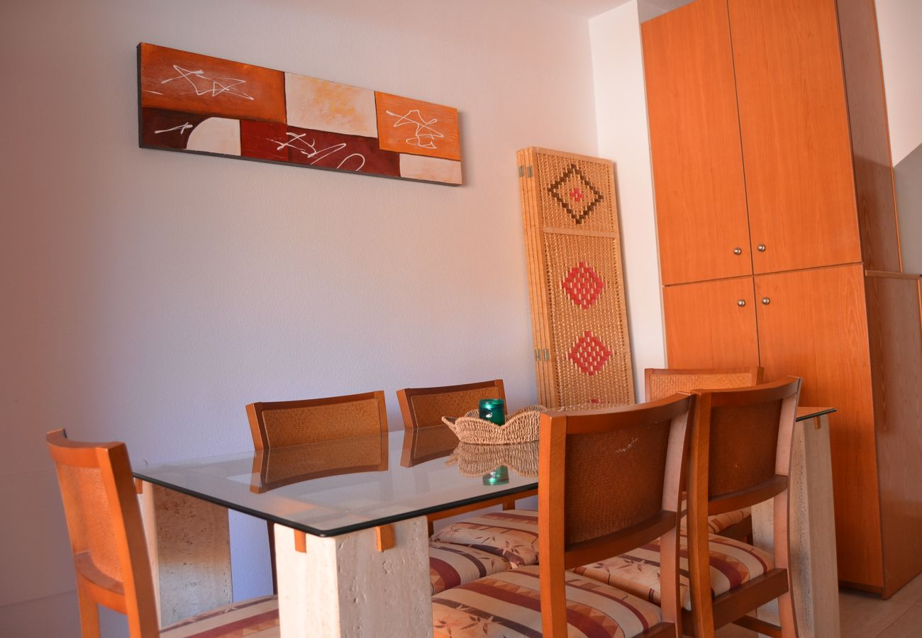 Salón en la casa de Albatros Playa 2 - Resort Choice