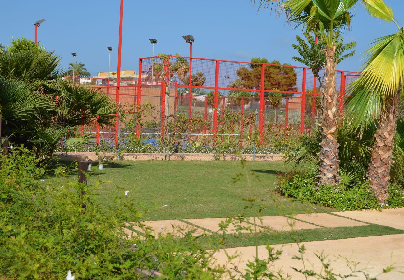 Club de padel y tenis en Mar de Cristal - Resort Choice