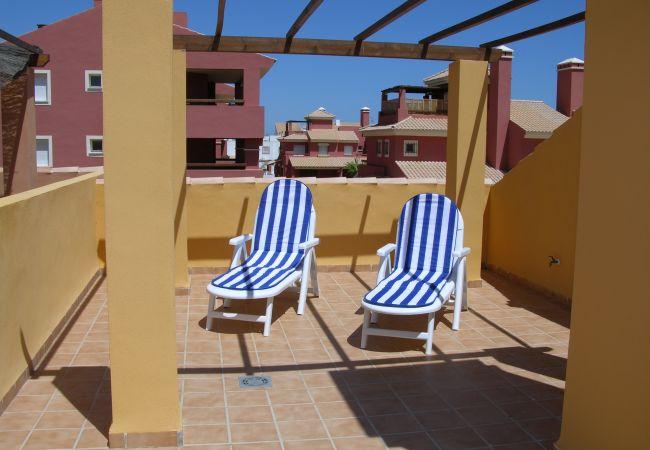 Gran terraza en la azotea - Resort Choice
