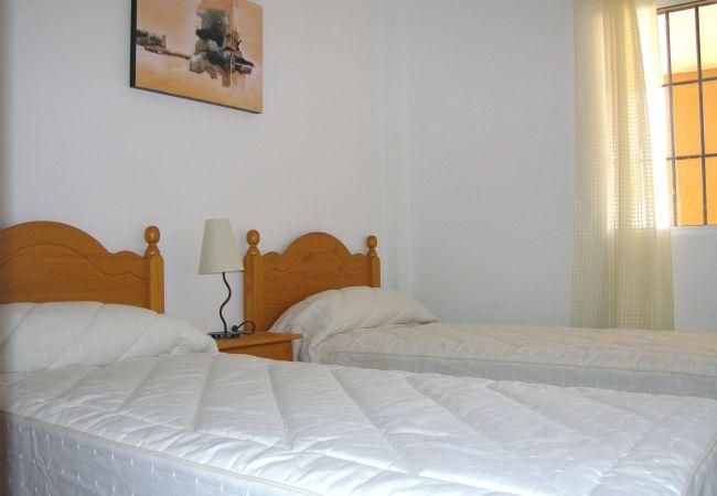 Apartamento con dormitorio de 2 camas individuales en Mar de Cristal - Resort Choice