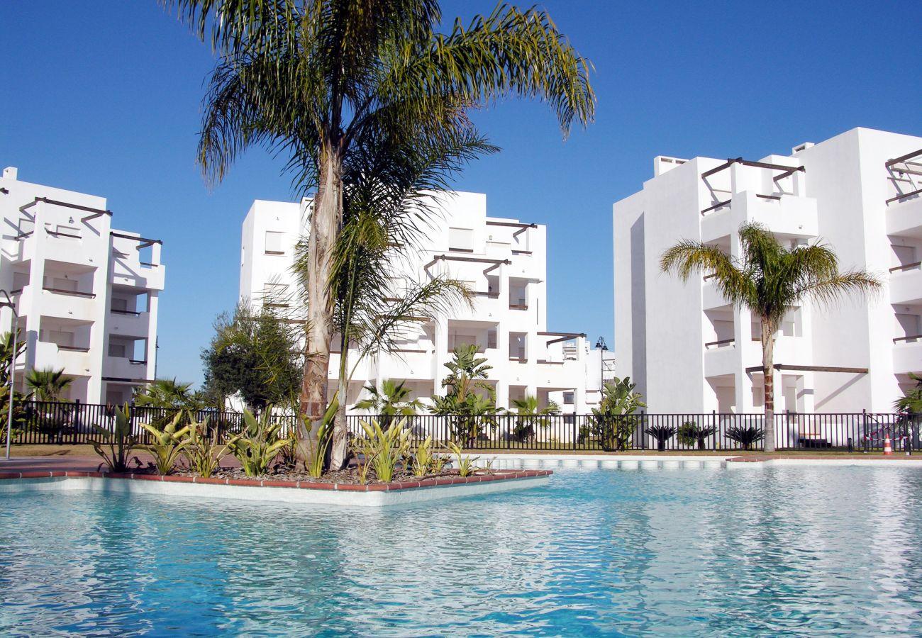 Apartamento en Las Terrazas de La Torre con preciosa piscina