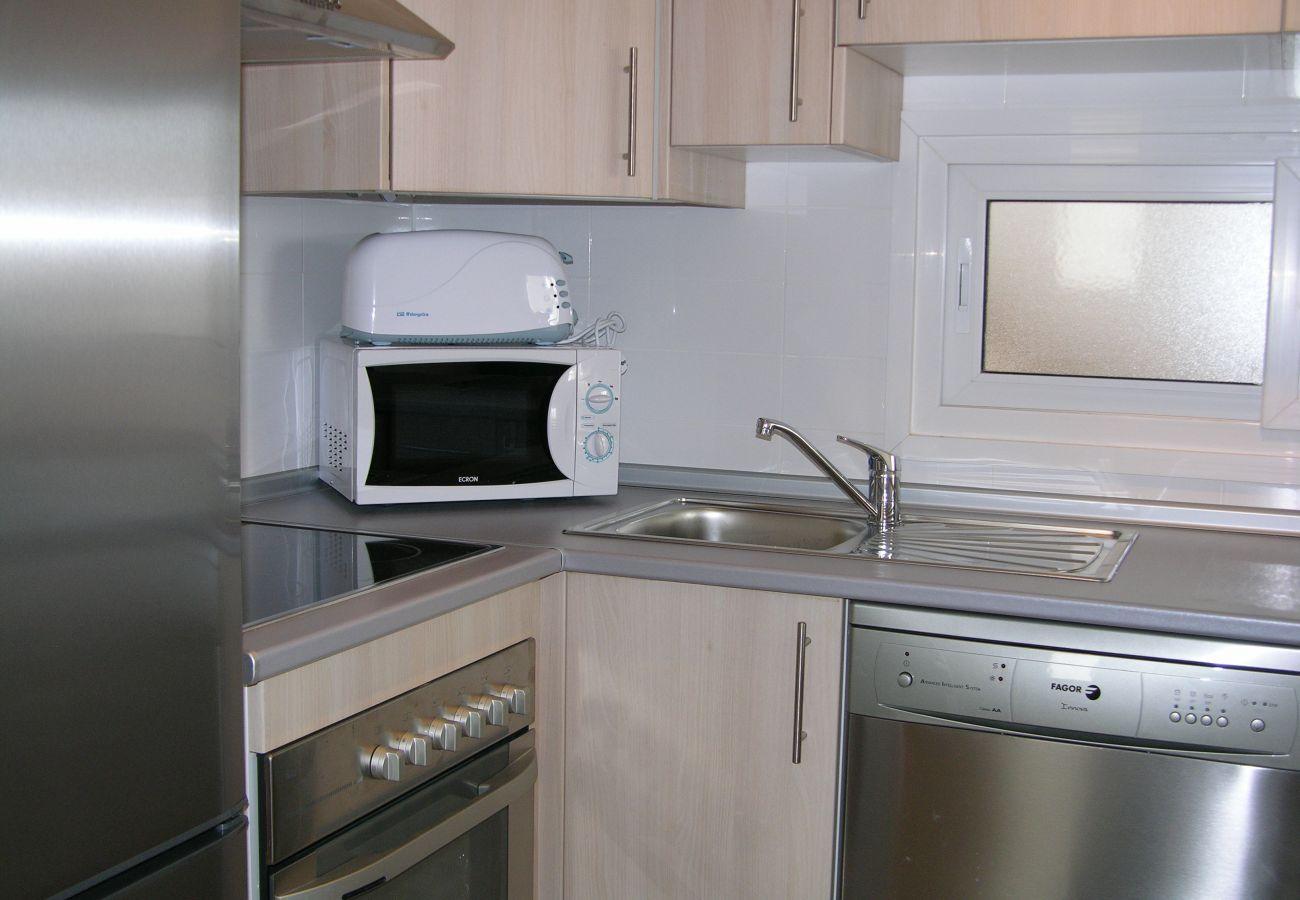 Apartamento en Las Terrazas con bonita cocina moderna