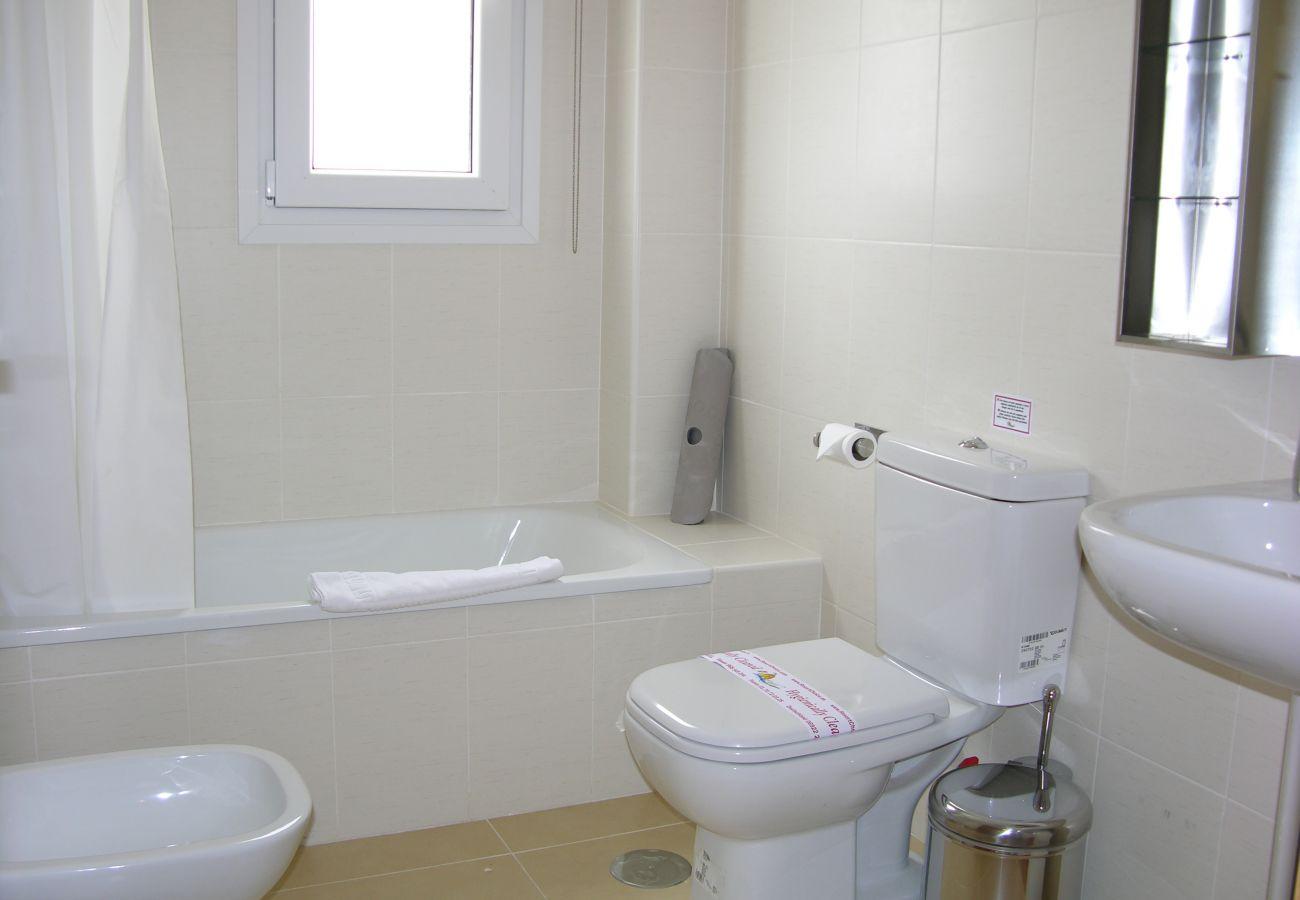Apartamento en Las Terrazas con bonito baño