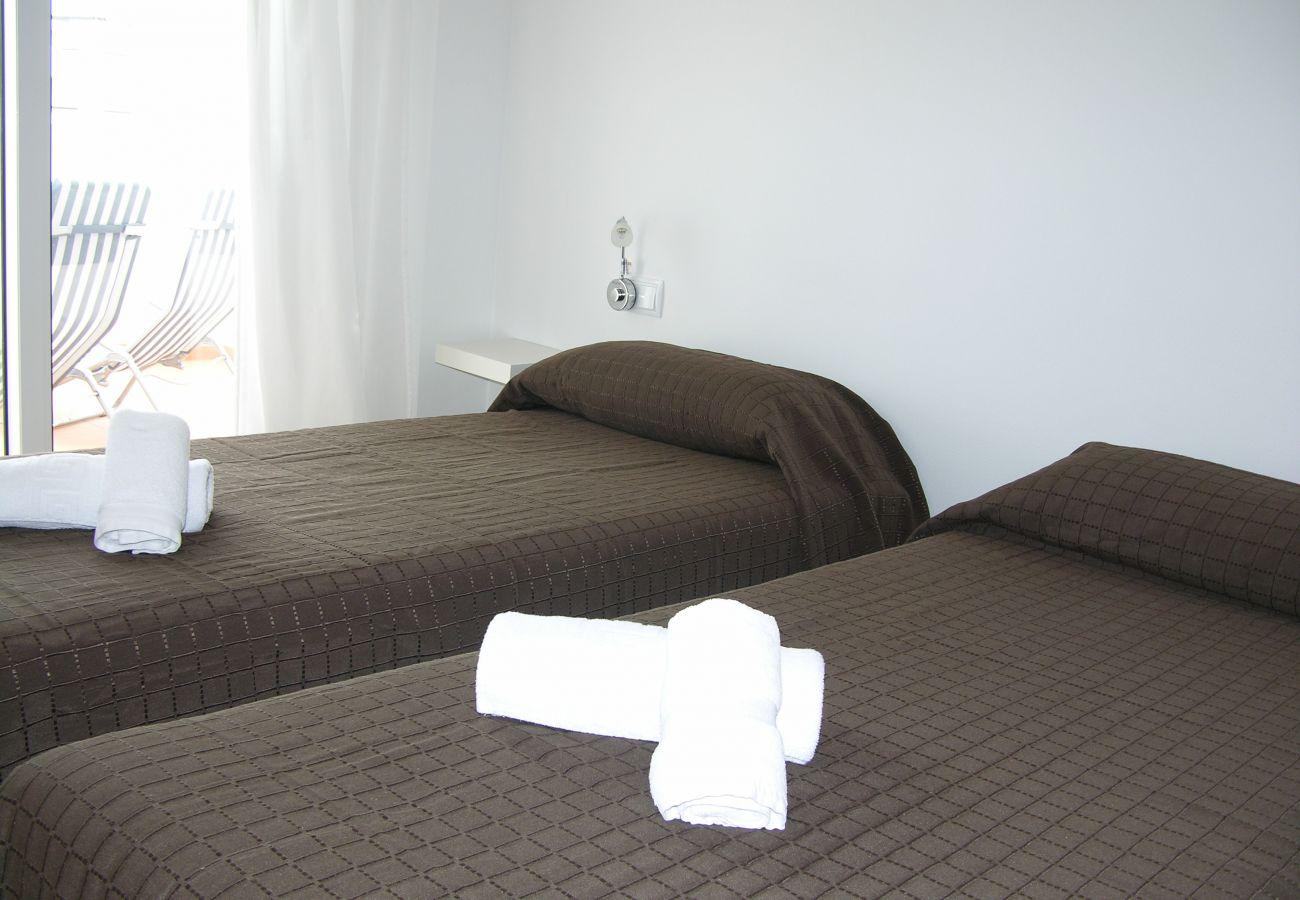 Apartamento en Las Terrazas de La Torre con bonito dormitorio de 2 camas