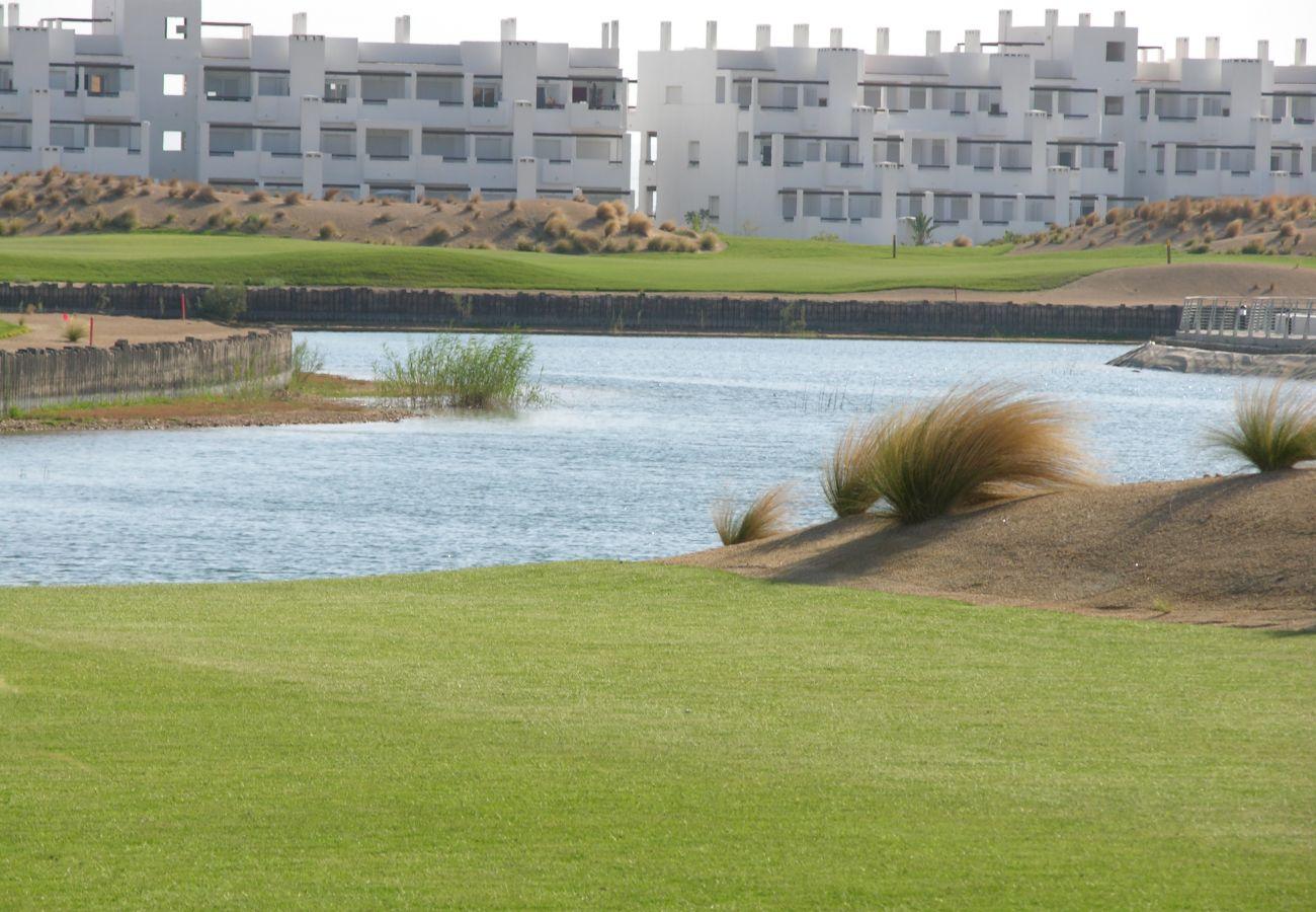 Preciosa área de golf en Las Terrazas de La Torre