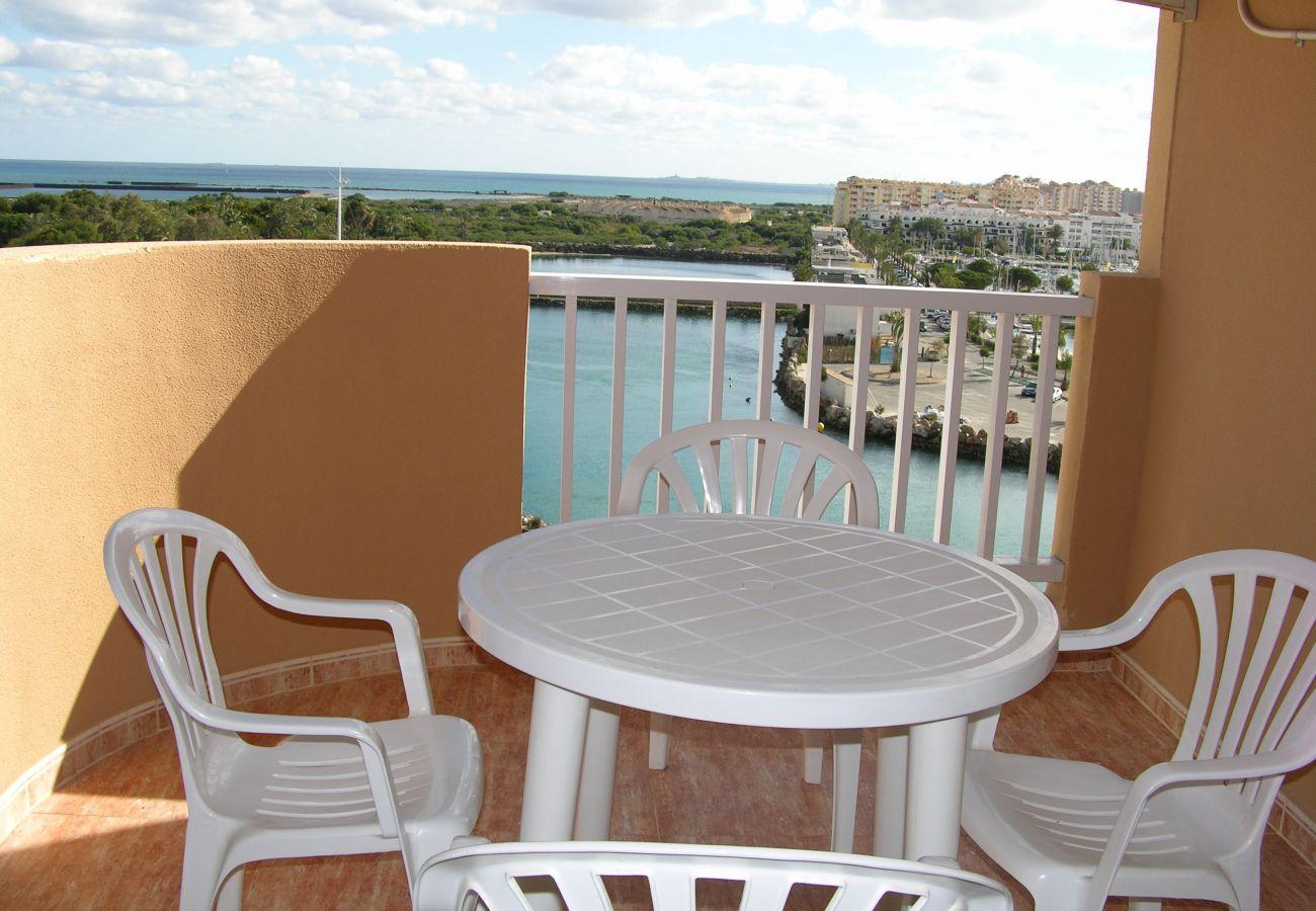 Apartamento en La Manga con balcón amplio - Resort Choice