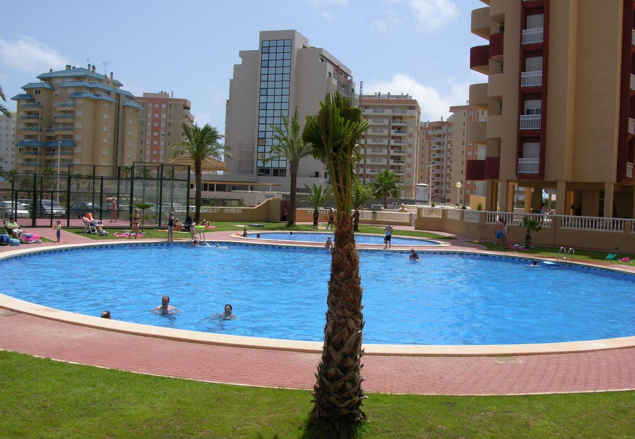 Los Miradores del Puerto con piscina grande y bonita - Resort Choice