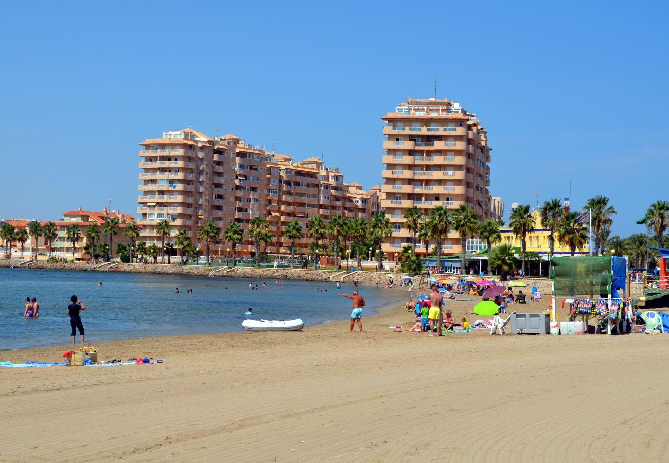 Playa de La Manga cerca del complejo Playa Príncipe - Resort Choice