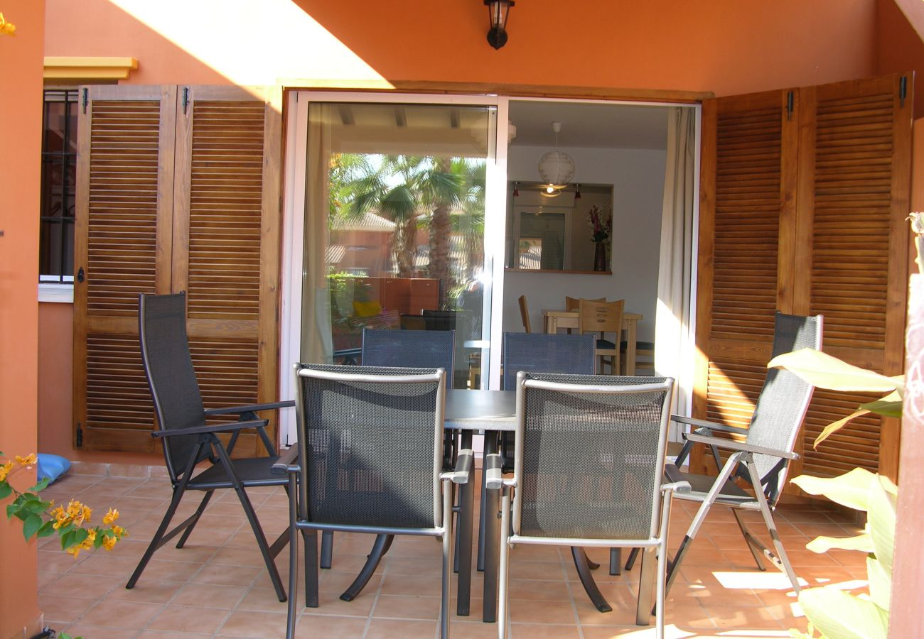 Patio privado - Resort Choice