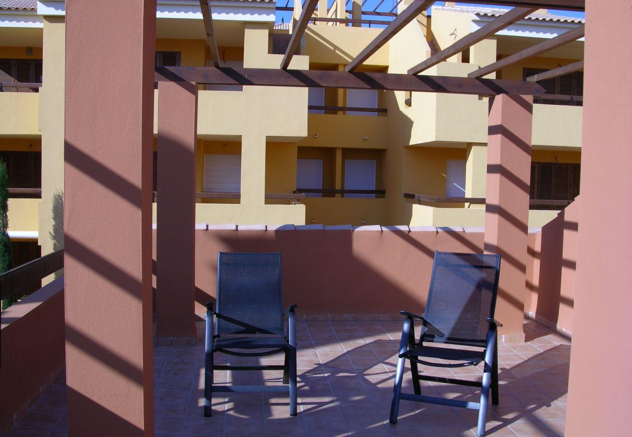 Bungalow en Mar de Cristal con gran terraza en la azotea - Resort Choice