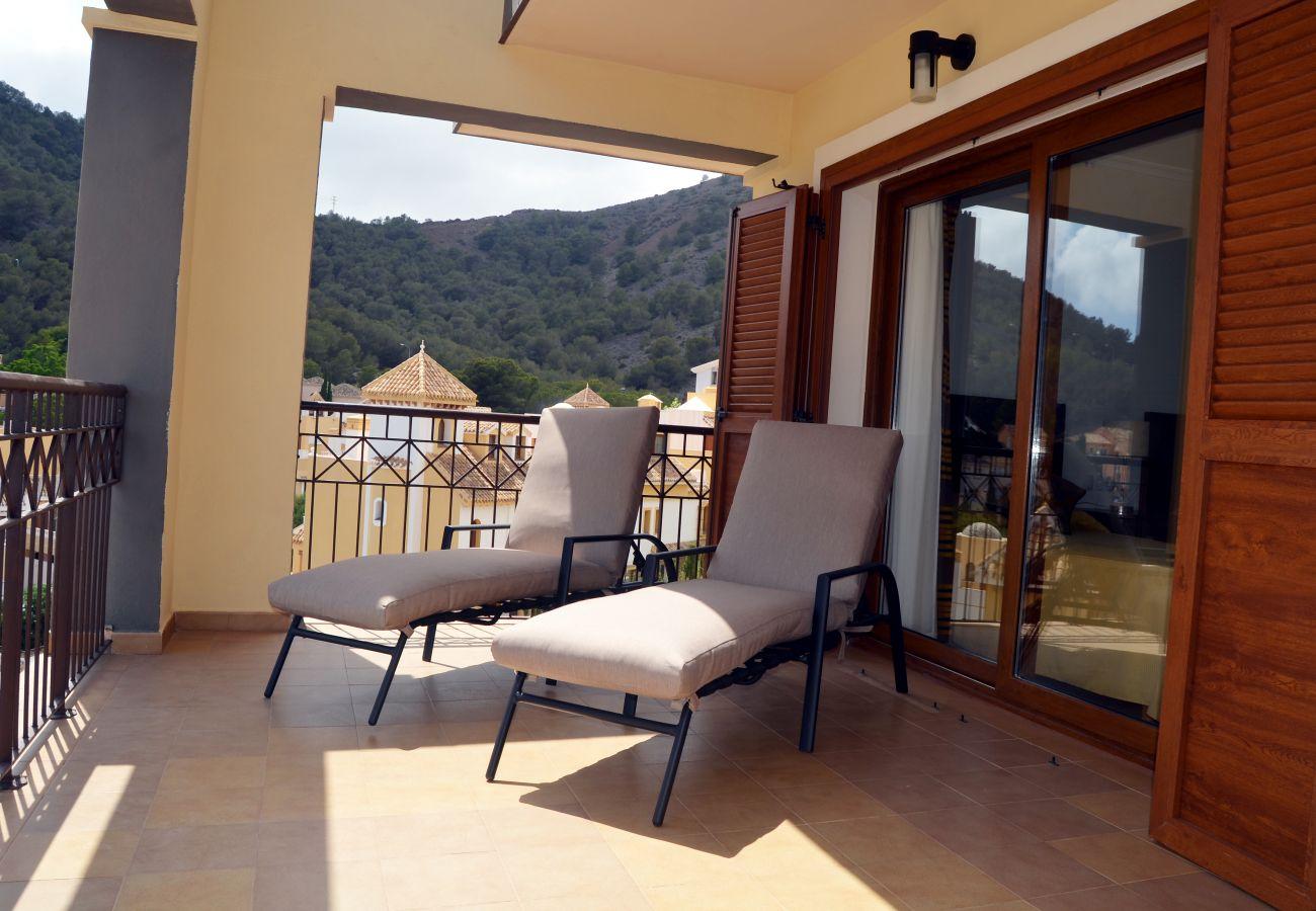 Gran terraza con tumbonas y preciosas vistas - Resort Choice
