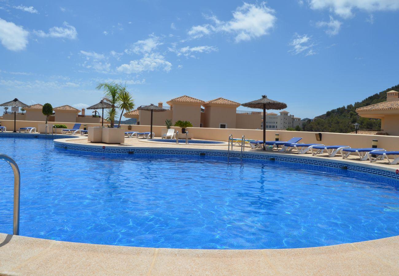 Apartamento Buena Vista con piscina comunitaria - Resort Choice