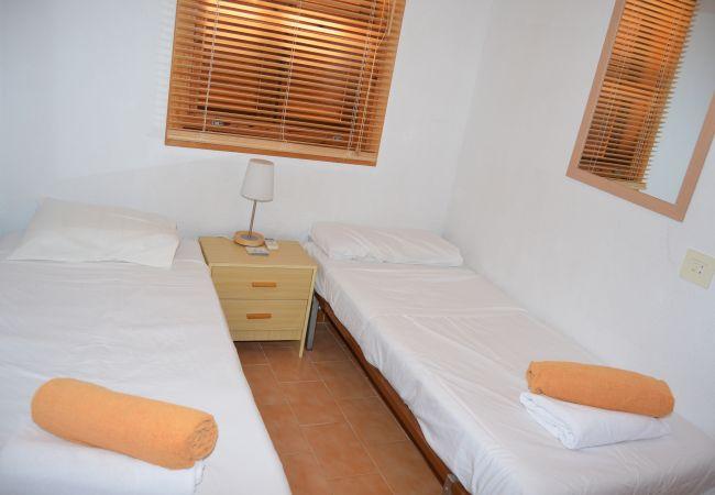 Preciosa casa con gran dormitorio de 2 camas individuales