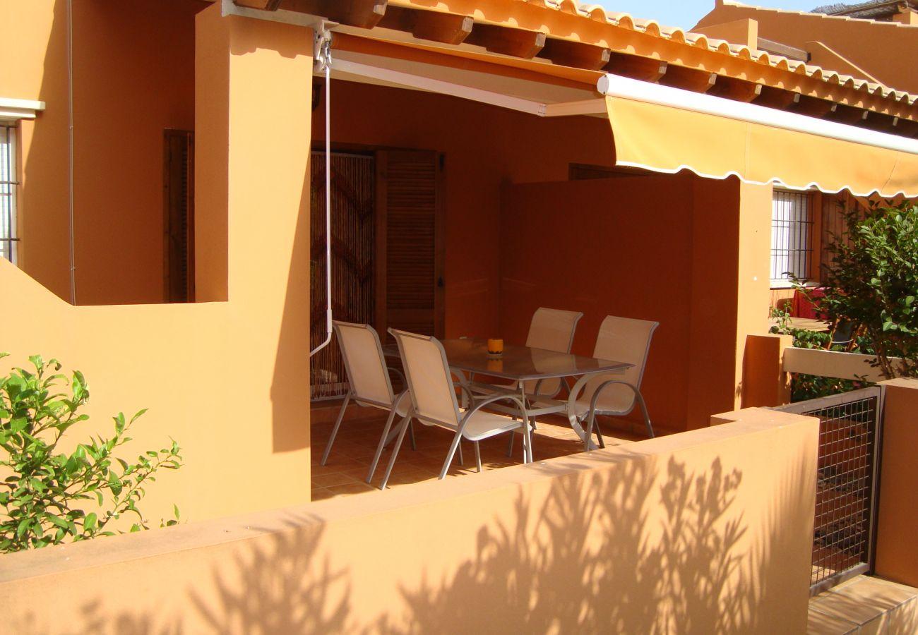 Área privada de relax en la terraza - Resort Choice