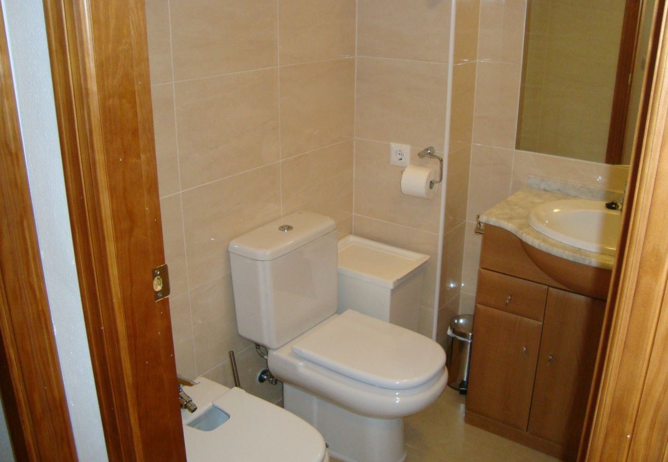 Bonito bungalow con gran baño