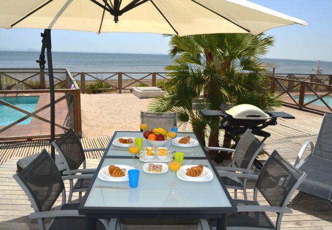 Terraza bien equipada y amueblada para disfrutar y descansar - Resort Choice