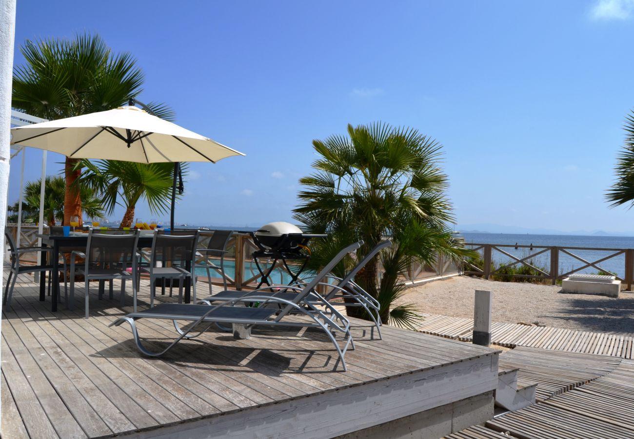 Preciosas vistas al mar dese la urbanización Los Arenales - Resort Choice