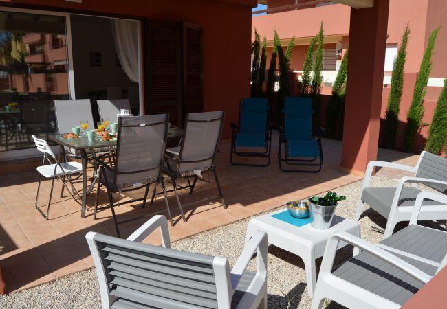 Gran terraza bien equipada - Resort Choice