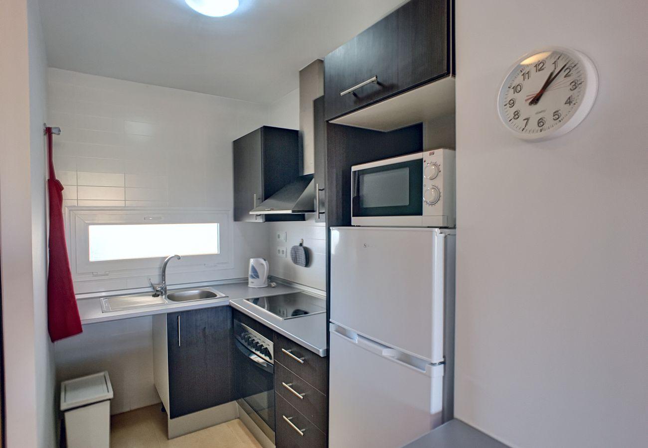 Apartamento Andrea en Las Terrazas con cocina moderna bien equipada