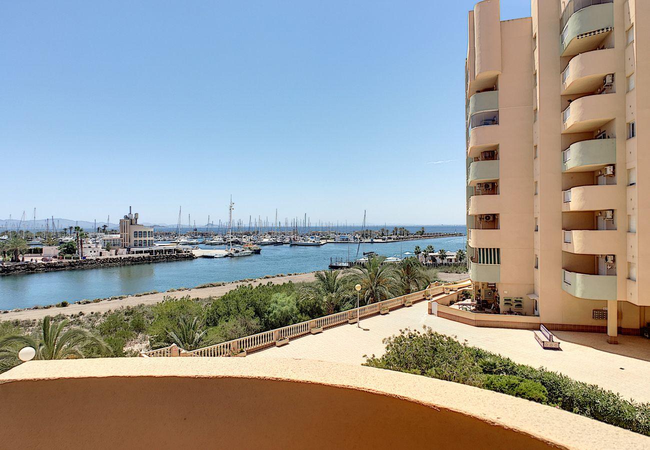 Apartamento en La Manga del Mar Menor - Los Miradores del Puerto - 4009